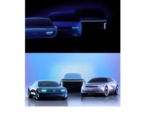 現代汽車子品牌IONIQ將推出三款新車型,將基于全新E-GMP平臺打造