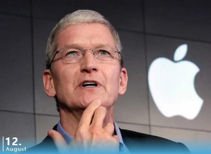 苹果CEO跻身十亿美元富豪俱乐部!公司市值距2万亿美元仅一步之遥