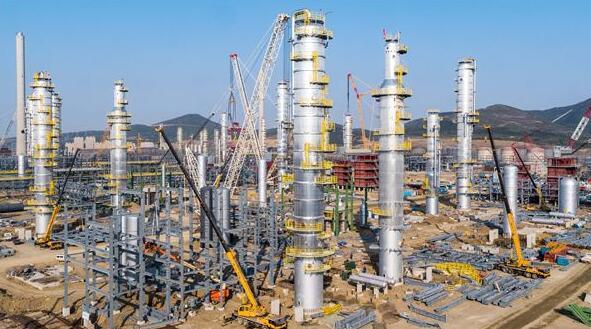 榆林化学乙二醇项目三个重要节点圆满完成