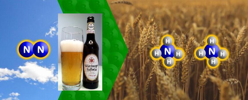 德国维尔茨堡大学用啤酒和硼宾还原了氮气,详细请看报道