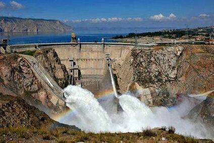 龙羊峡水电站:入库水量达到建站以来最大值