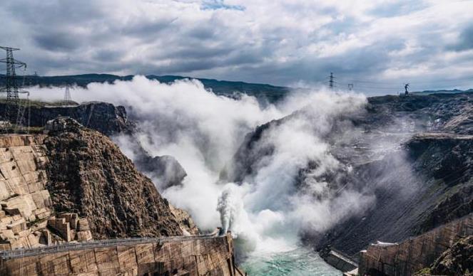 黄河上游最大水电站龙羊峡水电站入库水量创建站以来最大值