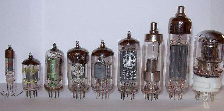 電子管的檢測方法及其參數