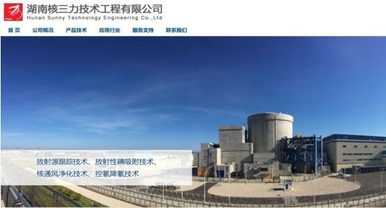 乐通:正式进军核安全领域,核设施产品已实现核安全领域商用化