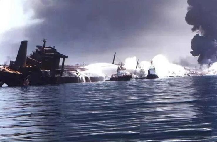近期美伊對抗升級,導致中東油輪頻頻被炸