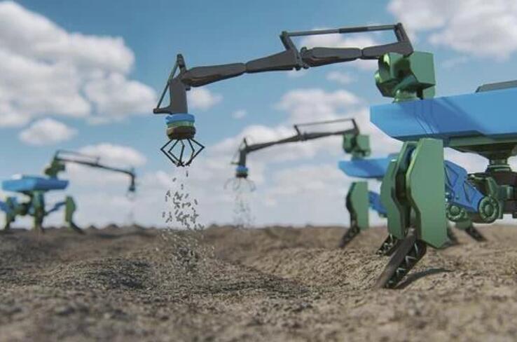 極目機器人所開發研究的農業科技技術