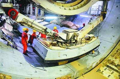 """盾構機等工程機械將從""""中國制造""""走向""""中國創造"""",為基建提速貢獻中國力量"""