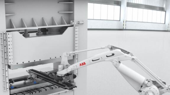 IRB760PT机器人是一款全新冲压上下料型号,可以解决汽车冲压自动化的问题