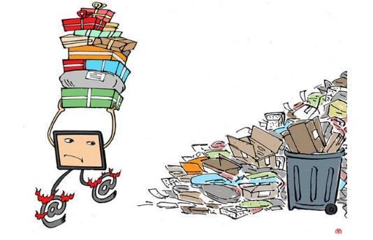当垃圾分类遇上快递包裹,快递包装垃圾该如何安放