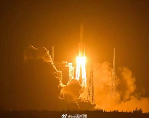 探月极限挑战之旅开启:嫦娥五号发射成功!