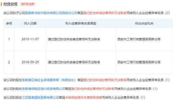 """江苏国泰新点软件上市在即,招股书隐藏三大""""负面事件"""""""