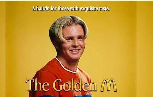 """麦当劳开起了理发店,只剪""""金拱门""""造型"""