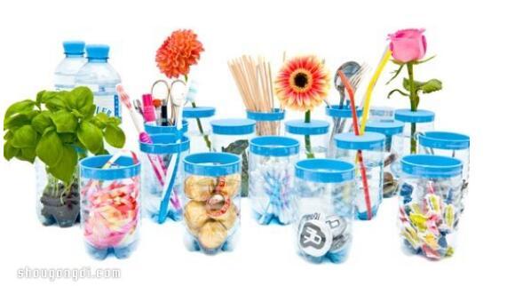矿泉水瓶废物利用,组图欣赏这些创意环保吧