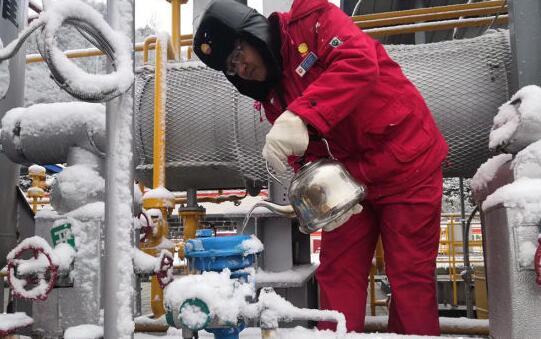中国石油西南油气田川西北气矿入冬以来累产天然气2.89亿立方米
