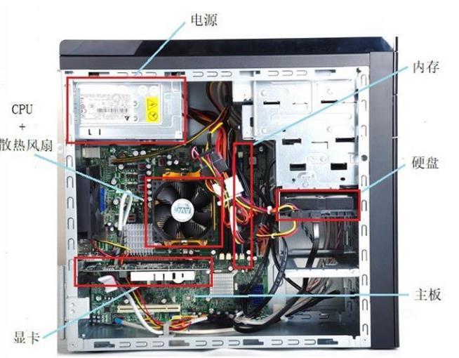 计算机硬件组成有哪些,计算机硬件介绍