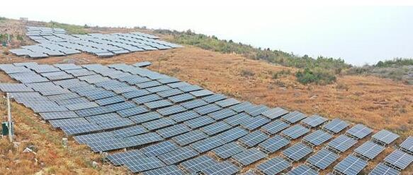 湖南新田光伏发电站为贫困村带来了最直接最稳定的收入