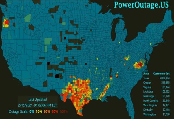 """美国德州""""电荒"""":对电力市场改革和新能源电力的启示"""