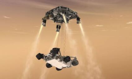 美国毅力号火星车成功登陆火星,成为第五辆成功登陆火星的火星车