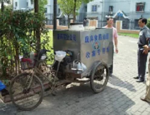 上海生活垃圾管理变迁史:餐厨废弃油脂的收运、申报和管理