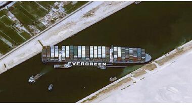 苏伊士运河被堵第7天:隔仓漏水,美军舰受影响,苏伊士运河为什么如此重要