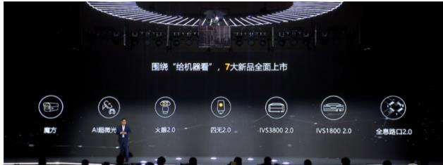 华为机器视觉推出七大新品:AI简筒摄像机、AI超微光2.0、全息路口2.0等