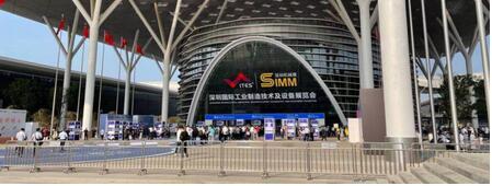 2021 ITES深圳工业展在深圳国际会展中心举办,12号馆机器人夺人眼球