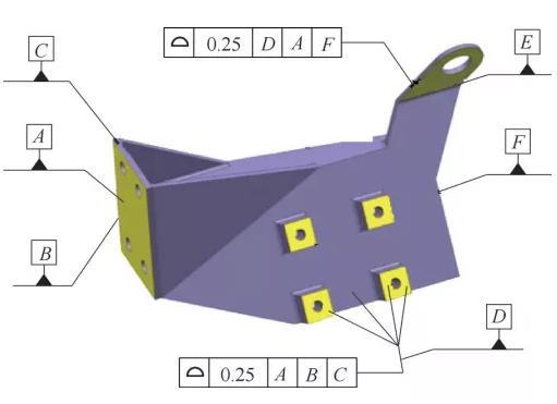面轮廓度逆向尺寸控制及测量,各个工装夹具设计