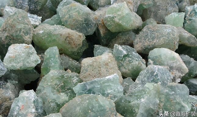 萤石的主要类型及萤石选矿方法