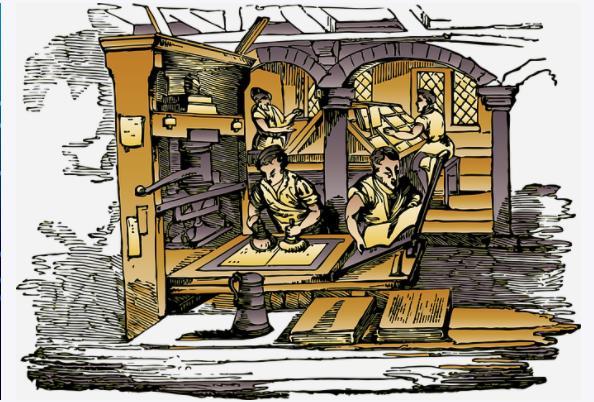 中国活字印刷为什么没有流行开来,印刷机的发明让欧洲金属活字印刷技术一统世界