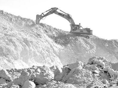 """宁夏北山铁矿遭疯狂超采,一座山都快被挖""""丢""""了"""