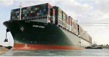 """日本船东要求埃及打一折,日本拒付千亿赔偿,埃及一法院批准正式扣留""""长赐""""号货轮!"""