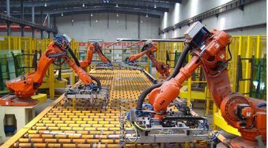 工业机器人领域90%市场被外资垄断,国产的埃斯顿机器人品品牌正在悄悄崛起