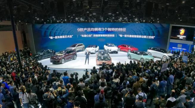 """恒大汽车9款齐发,以颜值与实力成为上海车展""""全场最靓的仔"""""""