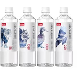 """农夫山泉推出新品""""长白雪"""",天然矿泉水才是未来瓶装水产品的主流"""