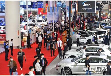 2021湖南汽车展览会落幕,42个新能源车品牌集结,正式开启立体化、平台化、常态化车展元年