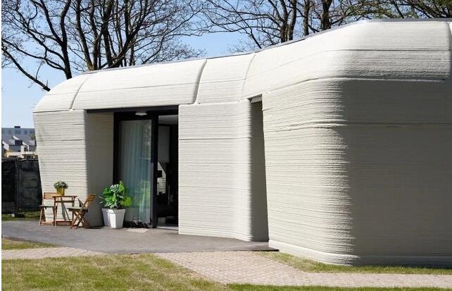 荷兰第一栋3D打印的房子有住客了
