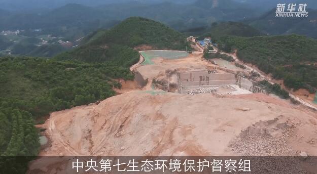 梧州岑溪市花岗岩矿山野蛮开采问题突出,多座矿山违规超采