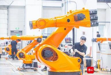 """顺德机器人产业风云录,""""隐形冠军""""不断涌现,剑指千亿级产业集群"""