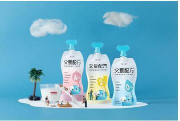 简爱酸奶父爱配方,专为儿童设计的低温无添加剂酸奶,6周年渗透500万家庭
