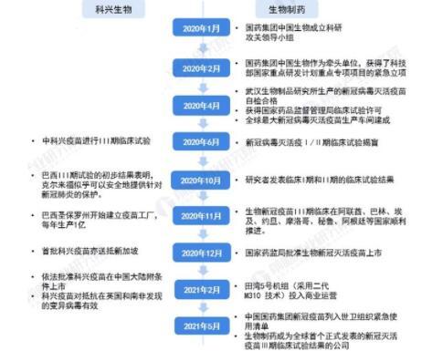 中國新冠疫苗龍頭企業對比:國藥生物VS科興生物,誰會是新冠疫苗龍頭老大
