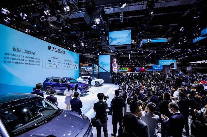 中汽协数据:1-5月中国品牌汽车销量,奇瑞增速位居第一