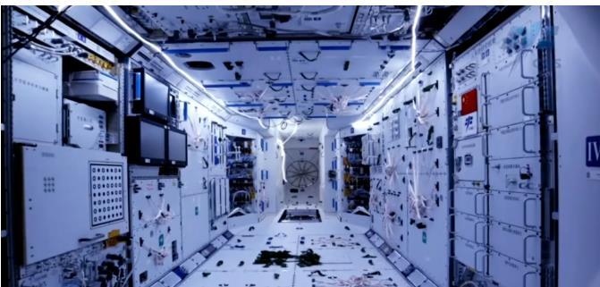 神舟十二号的电力系统主要构成:太阳电池翼+储能电池