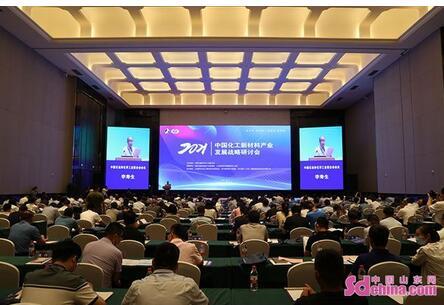 2021年中国化工新材料产业发展战略研讨会在金乡召开,分析产业面临的新形势和新问题