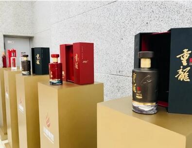 """川酒集团携手内江市打造的""""重龍""""酒新品上市,4种酒香类型,定位名酒品牌"""