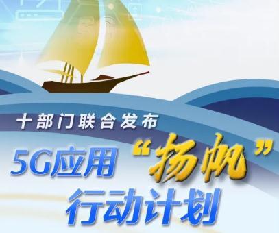 """《5G应用""""扬帆""""行动计划(2021-2023年)》全文解读"""