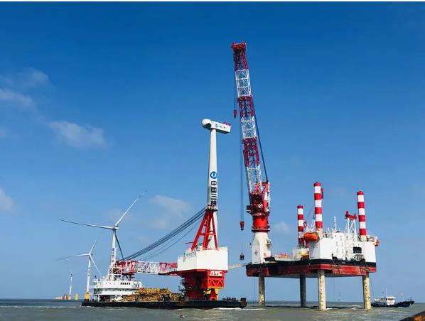 三峡如东800兆瓦海上风电项目扎根如东沿海,千亿级产业集群加速崛起