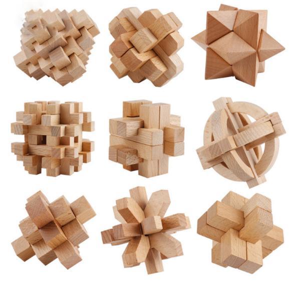 魯班鎖的由來、結構與分類、原理及在現代展具設計中的應用