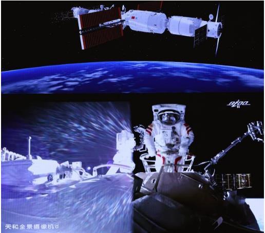 天和+問天+夢天=天宮,看中國空間站如何做到1+1=1