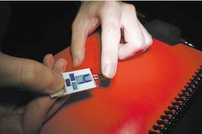 一种可以从指尖上的汗水中获取能量的新设备——目前最高效的身体能量收集器