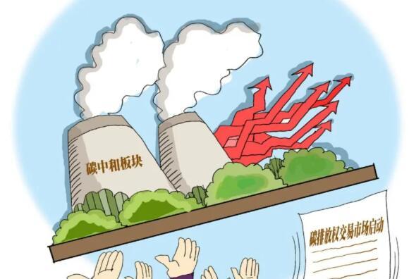 """碳市场开门红后,专家预测:碳价有望走高,""""十四五""""末交易额有望超千亿元"""